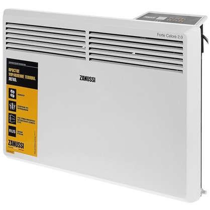 Конвектор электрический Zanussi ZCH/S-1500 ER 750 и 1500 Вт площадь обслуживания 20 м2