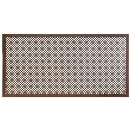 Короб декоративный для радиатора Глория 60х120 см цвет орех цена