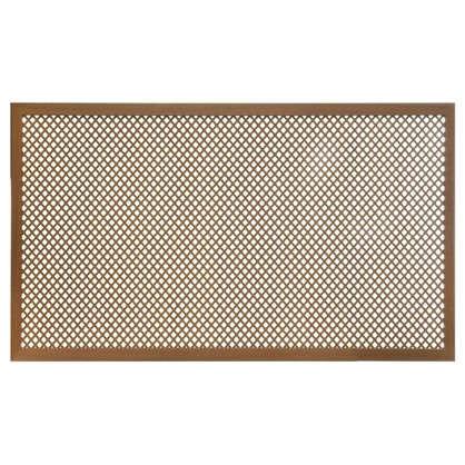 Короб декоративный для радиатора Глория 60х90 см цвет вишня цена