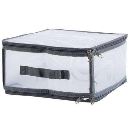 Короб Handy Home складной на молнии M 30х15x28 см пластик цена