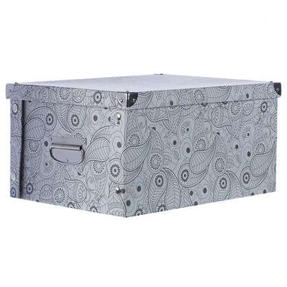Коробка картон 40x30x20 см узор