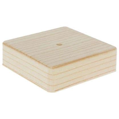Коробка распределительная ОП 100х100х29 мм цвет сосна цена