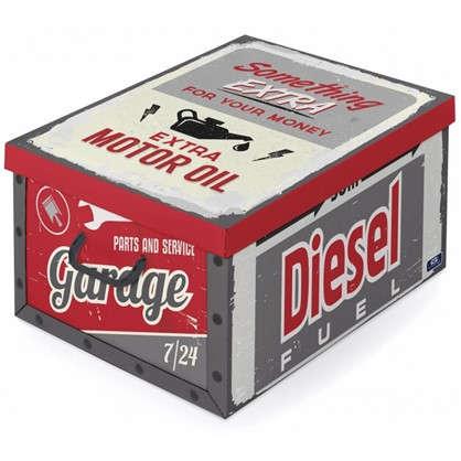 Коробка с ручками Domo Pak Гараж 39х24x50 см картон