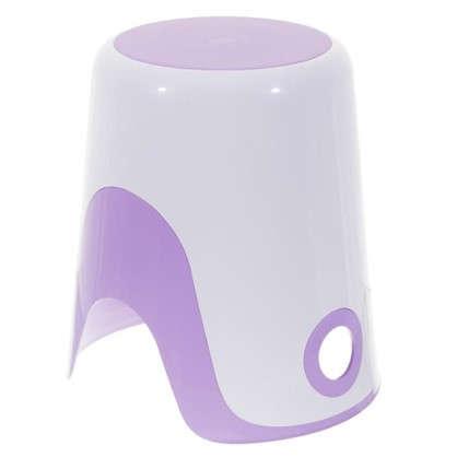 Корзина для белья 2 в 1 цвет фиолетовый