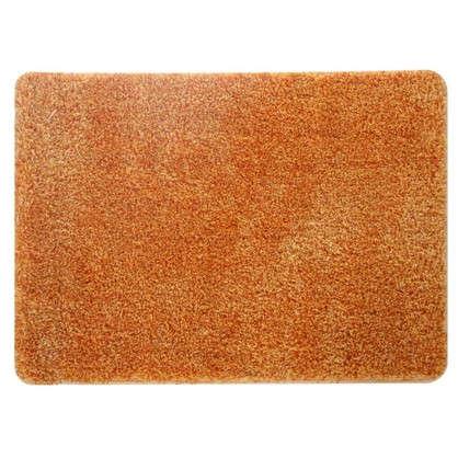 Коврик для ванной Amadeo 50x70 см цвет оранжевый