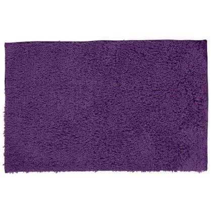 Коврик для ванной Twist 60х90 см цвет фиолетовый