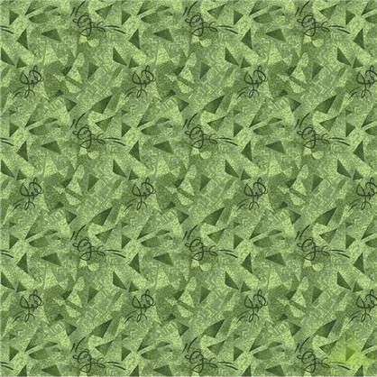 Ковролин Карамель 600 войлок 3 м цвет зелёный