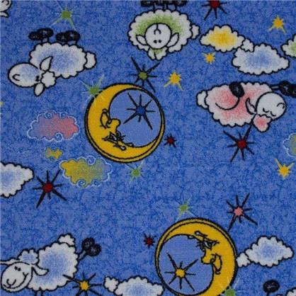 Ковролин Овечки 203 полиамид 3 м цвет голубой цена