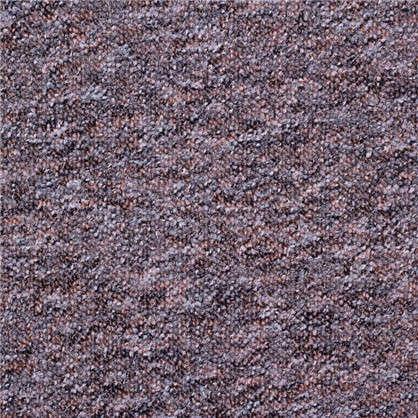 Ковролин Супер Стар 310 петлевое 4 м цвет чёрно-коричневый цена