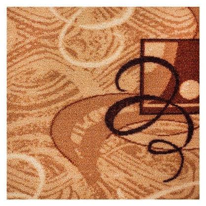 Ковролин Вираж 170 войлок 4 м цвет коричневый
