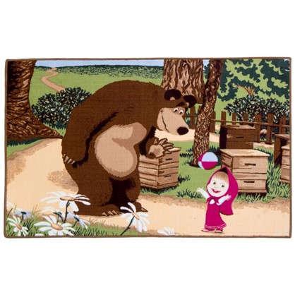 Коврик Маша и Медведь с мячом размер 1х15 м цена