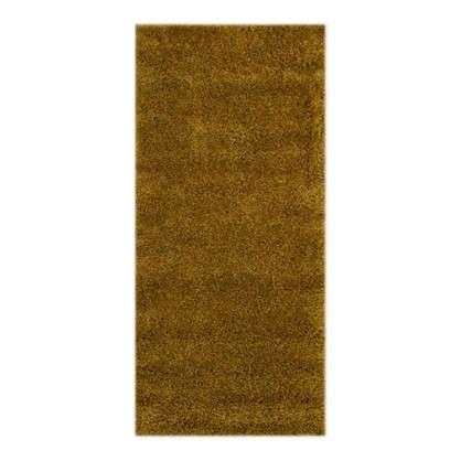 Ковер Shaggy Ultra 1х2 м полипропилен цвет темно-бежевый цена