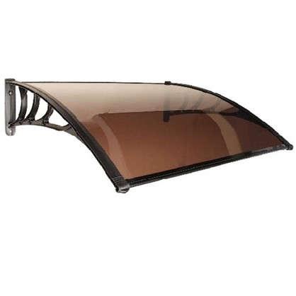 Козырек-конструктор 1000х1200 мм цвет коричневый