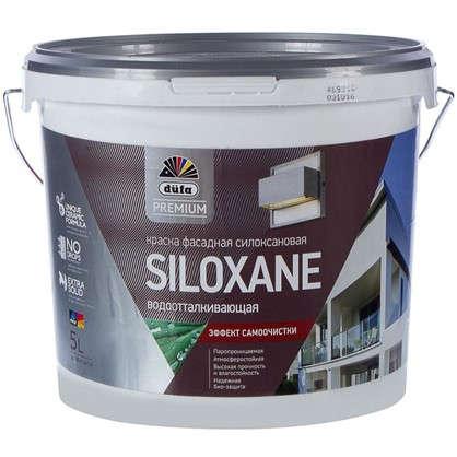 Краска для фасадов Dufa Siloxane база1 5 л цена