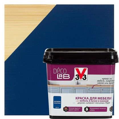 Краска для мебели V33 Decolab цвет ультрамарин 0.75 л