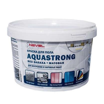 Краска для пола Aquastrong 2 кг цвет серый