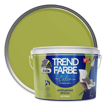 Краска для стен и потолков Trend Farbe цвет Греческий пир 1 л