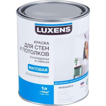 Краска для стен коридора и офиса Luxens 1 л