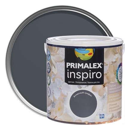 Краска Primalex Inspiro 25 л Атласный графит цена