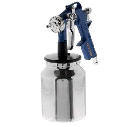 Краскораспылитель с нижним бачком Dexter 1 л алюминиевый цена