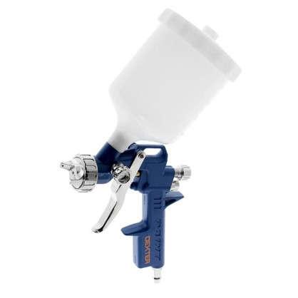 Краскораспылитель с верхним бачком Dexter 0.4 л пластиковый цена