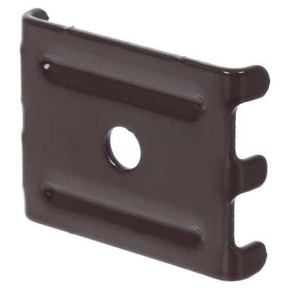 Крепление (скоба и саморез) коричневый цена