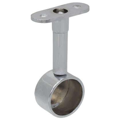 Крепление труб к стене торцевая регулировка 25 мм цвет хром цена