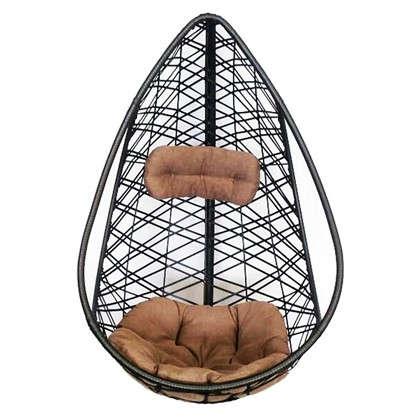 Кресло подвесное Кения цвет коричневый (без опоры)