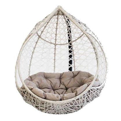Кресло подвесное Марокко цвет серый (без опоры)