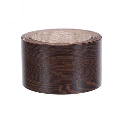 Кромка №199 с клеем для столешницы 305х4.2 см цвет черный/коричневый цена
