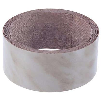 Кромка №3014 с клеем для столешницы 300х4.2 см цвет мрамор каррара цена