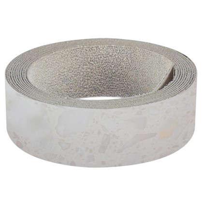 Кромка №905 с клеем для плинтуса 305х3.2 см цвет белые камушки цена