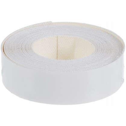Кромочная лента 19 мм 20 м цвет белый