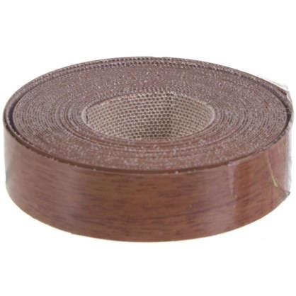 Кромочная лента 19 мм 5 м цвет орех