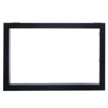 Кронштейн подвесной 450х300 мм цвет чёрный 2 шт. цена