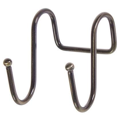 Крючок двойной Delinia цвет бронза