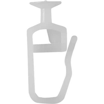 Крючок-гвоздик для шины пластик 10 шт. цена