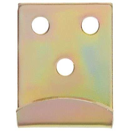 Крюк Gah Alberts для запора 34x2x25 мм цвет желтый цена