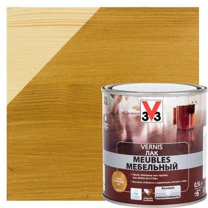 Лак для мебели V33 акриловый цвета дуб 0.5 л
