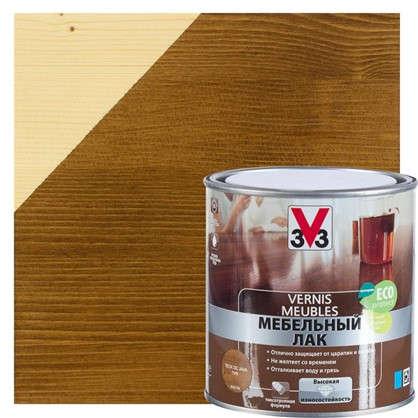 Лак для мебели V33 акриловый цвета тиковое дерево 0.5 л