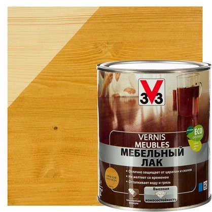 Лак для мебели V33 акриловый цвета золотой дуб 1 л