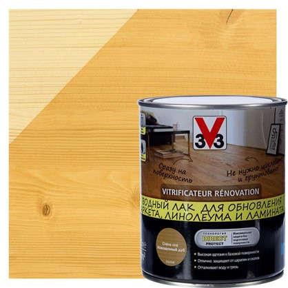 Лак для реновации водный V33 цвета дуб 0.75 л цена