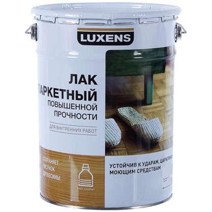 Лак паркетный Luxens алкидно-уретановый матовый бесцветный 5 л