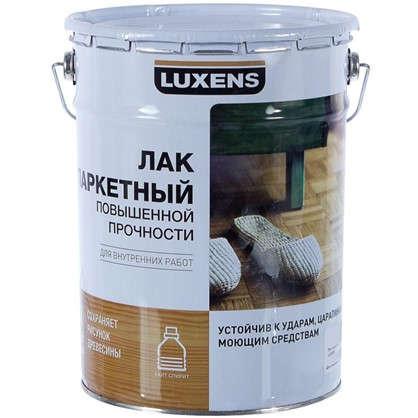 Лак паркетный Luxens алкидно-уретановый полуматовый бесцветный 5 л