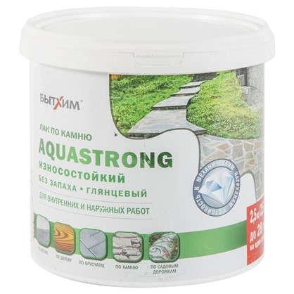 Лак по камню Aquastrong высокопрочный 2.5 кг цена