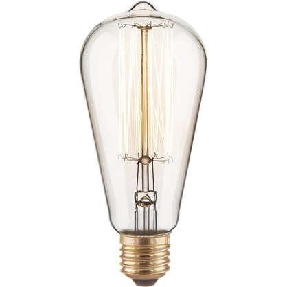 Лампа Эдисон ST64 60 Вт цена