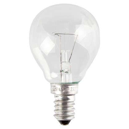 Лампа накаливания Osram шар E14 60 Вт свет теплый белый цена