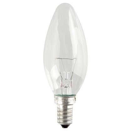 Лампа накаливания Osram свеча E14 60 Вт свет теплый белый цена