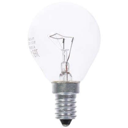 Лампа накаливания Radium Шар E14 60 Вт прозрачная колба цена