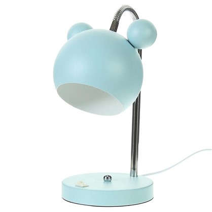 Лампа настольная Panda E27 40 Вт цвет голубой цена
